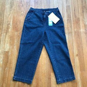 SALE!! 5/$25 NWT Denim & Co QVC Cropped Jeans